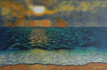 Majestic Morning - large impressionist seascape