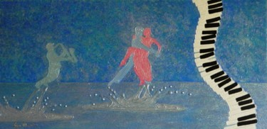Passion For Jazz - fantasy jazz dancers on water