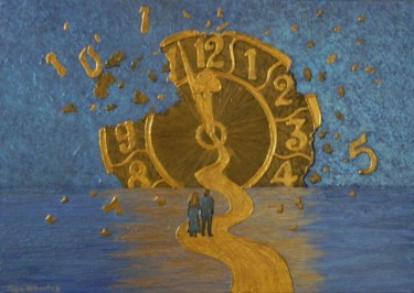 Lost in Time - voyage in time painting