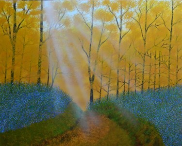 Where the Spirit Lives - forest landscape painting