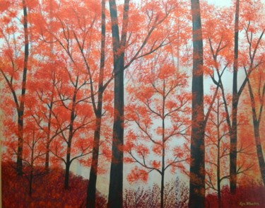 Memories of Summer - autumn forest landscape