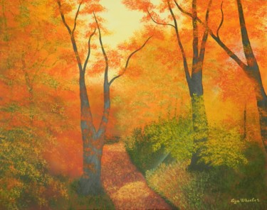 """ Spirit of the Forest "" landscape painting"