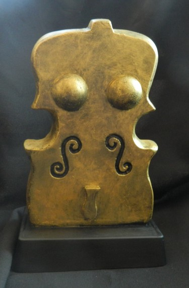 Serenade - abstract woman violin sculpture