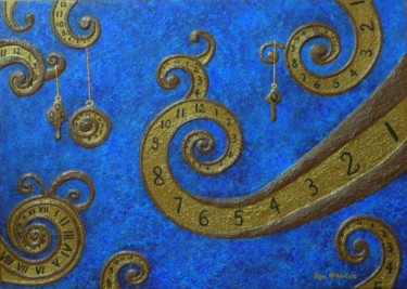 The Illusion of Time - abstract fantasy painting