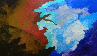 Rhapsody - abstract skyscape painting