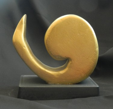 The Passage - handmade, carved abstract sculpture